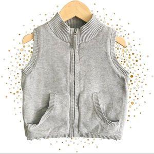 PUREBABY Organic Cotton Knit Vest